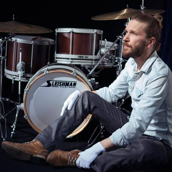 Xavier Girard Artiste Sleishman Drums